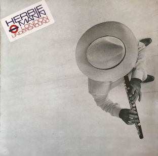 Herbie Mann ‎- London Underground (LP) (EX-/VG-)
